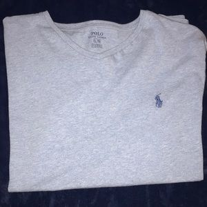 Men's v neck polo Ralph Lauren T-shirt.